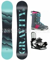 Dámský a dívčí snb komplet Gravity Sirene s vázáním a botami Westige