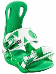 Pánské snowboardové vázání Völkl StrapTec Initial green/white