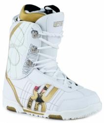 Malé dámské nebo dívčí snowboardové boty Westige Hard white/bílé