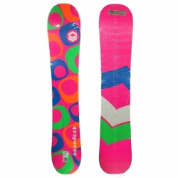 Dámský snowboard FTWO Neon Deck Lady Double Camber
