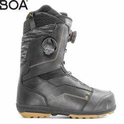 Dámské boty na snowboard Nidecker Trinity Focus black se 2 utahovacími kolečky