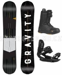 Pánské snowboard komplety Gravity Symbol s rychloutahovacími botami