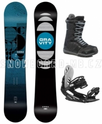 Pánský univerzální snowboardový komplet Gravity Cosa 2020/21