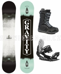 Snowboard komplet Gravity Adventure 2020/21