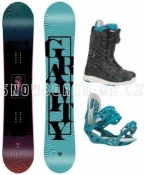 Dámský snowboard komplet Gravity Sublime 2020/21 s botami s kolečkem