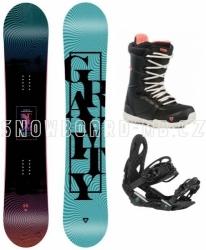 Dámský snowboard komplet Gravity Sublime 2020/21