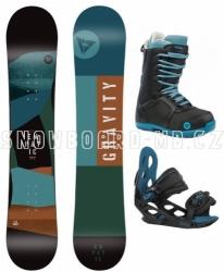 Dětský chlapecký snowboardový komplet Gravity Empatic Jr 2020/21