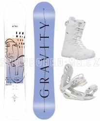 Dámský snowboardový set s botami Gravity Mist 2020/21