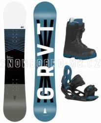 Dětský snowboardový komplet Gravity Flash s rychloutahovacíma botama