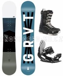 Dětský snowboard komplet pro juniory Gravity Flash 2020/21