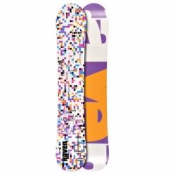 Dámský snowboard Raven Grid white kostkový