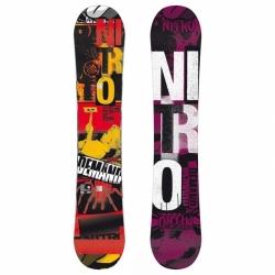 Snowboard NITRO DEMAND 149 cm gullwing camber, snowboardy levně