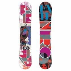 Dámský snowboard Nitro Fate 153 cm ZERO, kvalitní dámské snowboardy