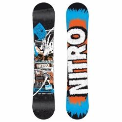 Junior snowboard Nitro Ripper ZERO kvalitní juniorský snb do všech terénů