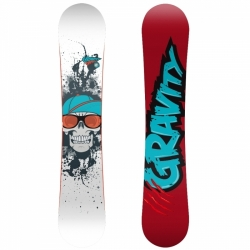 Twintip snowboard Gravity Empatic, freestyle snowboardy cam-rock camber