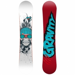 Freestyle snowboard Gravity Empatic wide, široký twintip snowboard s prohnutím Cam-Rock