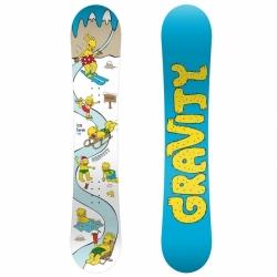 Dětský snowboard Gravity Ice Time Mini, nejmenší dětské snowboardy