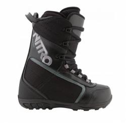 Dámské boty na snowboard Nitro Fader black/černé
