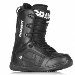 Pánské boty na snowboard Gravity Castor black černé