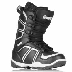 Dětské snowboardové boty Gravity Rise black/white