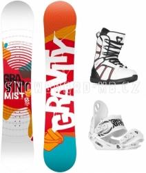 Dámský snowboard komplet levně, snowboardový set s botami
