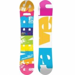 Dámský snowboard Raven Infinity, dámské snowboardy barevné