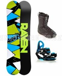 SNB komplety, snowboardové komplety Raven Shape black