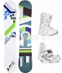 Dámské snowboardy komplety, snowboard komplet Ace Isnobot S1