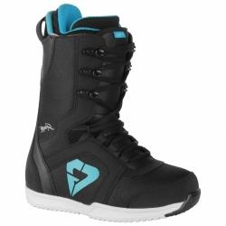 Dámské snb boty Gravity Aura black/blue černé/světle modré