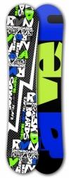 Freestyle snowboard Raven RVN black